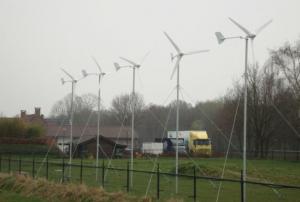 Utility-free wind turbines