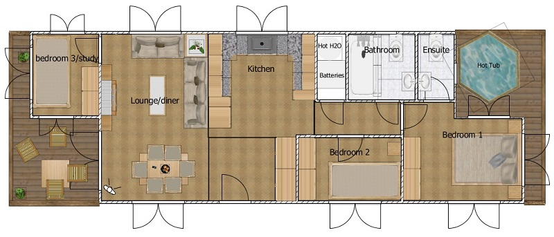 zer-carbon living floor plan
