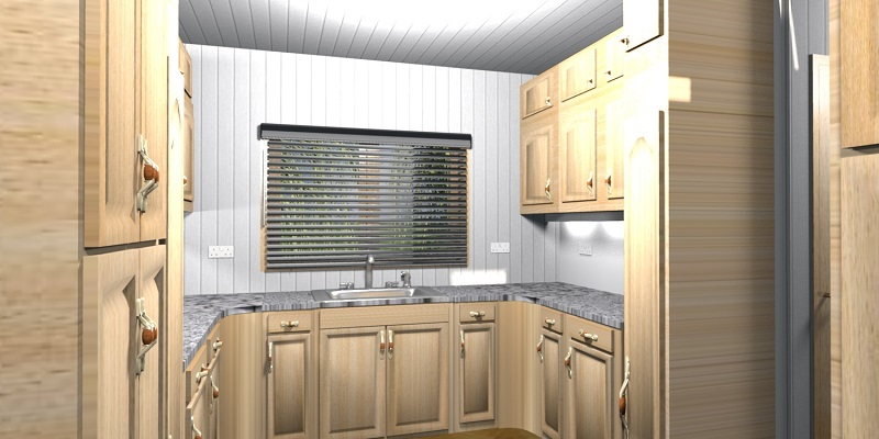 Kitchen (extra storage above upper cupboards